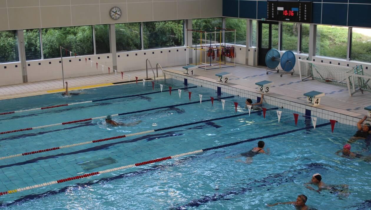 bassin de la piscine Saint Nicolas à Laval
