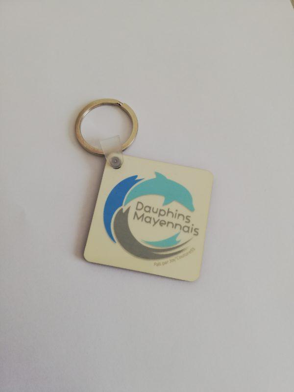 Porte-clef avec logo du club
