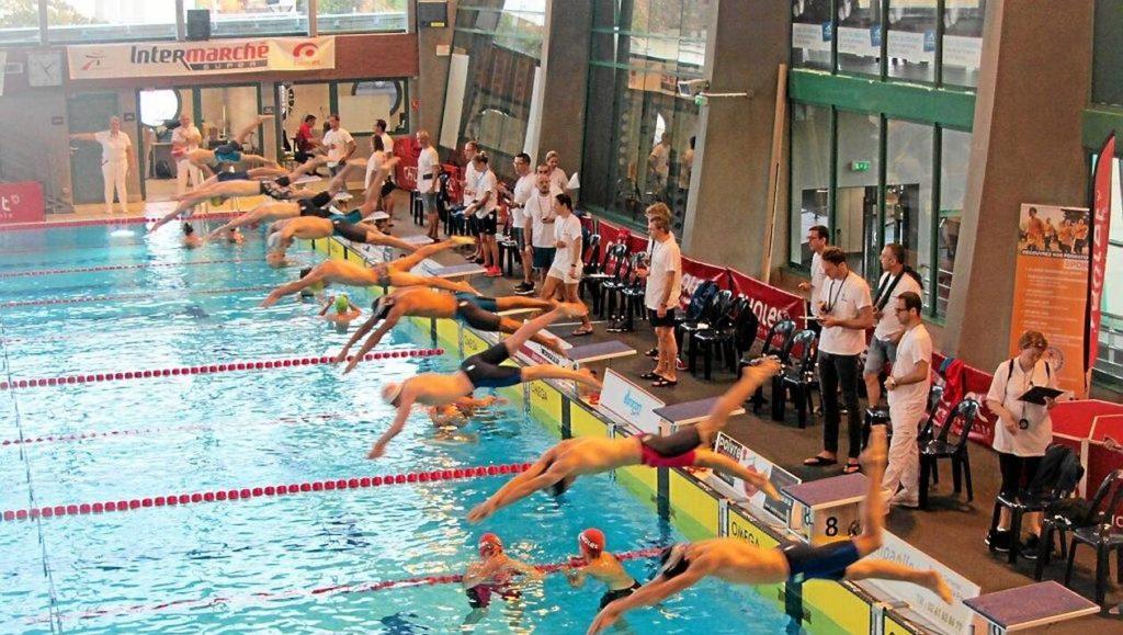 bassin de cholet lors d'une compétition